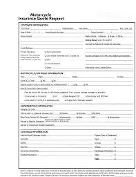 motorcycle insurance estimate
