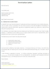Employee Termination Letter Template Free Custom Performance Review Letter Template Naserico