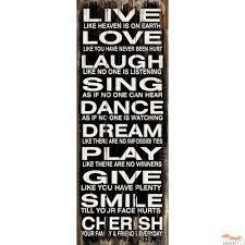 wall art design ideas live love word plaques wall art laugh sing inside recent wooden on wooden quote wall art with explore gallery of wooden words wall art showing 3 of 30 photos