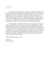Sample Email Cover Letter For Business Proposal Guamreview Com