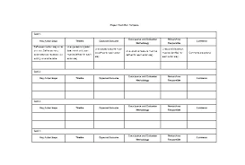 work plan examples research action plan template