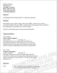 computer programmer resume to inspire you how to create a good resume 13 - Cobol  Programmer
