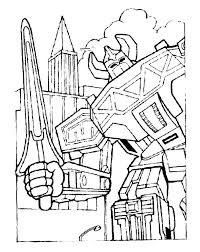 Mighty Morphin Power Rangers Coloring Pages Power Rangers Coloring