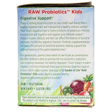 raw probiotics kids from garden of life delivers more than 5 billion live probiotic cells per daily serving to support your child s digestive and immune