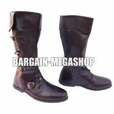 details about meval leather boots renaissance footwear viking shoe mens brown long shoes