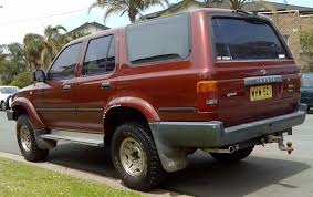 1991 Toyota 4Runner - Information and photos - ZombieDrive