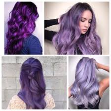 Purple Hair Style Pastel Colors New Hair Color Ideas & Trends For 2017 8442 by wearticles.com