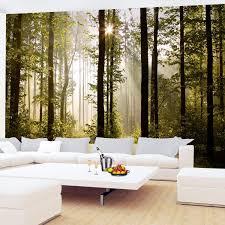 Fototapeten Wald Landschaft 352 X 250 Cm Vlies Wand Tapete Wohnzimmer Schlafzimmer Büro Flur Dekoration Wandbilder Xxl Moderne Wanddeko 100 Made
