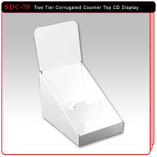 two tier cd display