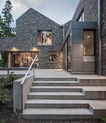 Trevor Homes Designs Farm Buildings Inform Design Of Canadian Lakeside Home By