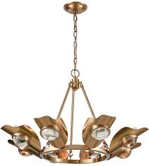 dimond lighting 1141 068 spectacle 8 light 30 inch aged brass chandelier ceiling light