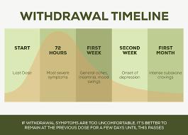 5 Suboxone Withdrawal Timelines Suboxone Half Life Chart
