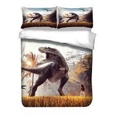 3d dragon bedding set lion art cover