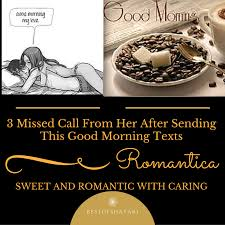 Good Morning Love Quotes For Her Fascinating 48 Missed Call From Her After Sending This Good Morning Texts Best