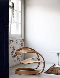 wonderful home furniture design. blond wooden curves for a designeru0027s lounge chair wonderful home furniture design n
