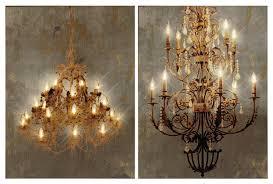 canvas prints chandelier with led lights 2 piece set