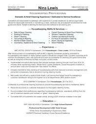 Sample Housekeeper Resume | Madebyrichard.co