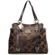 Coach Logo Monogram Large Coffee Totes BMZ Give You The Best feeling!