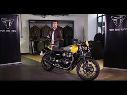 the all new triumph street cup