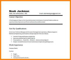 Sample Of Career Objectives For Resume 100 objective resume sample emails sample 34