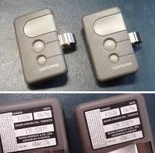 32 sears garage door remote control er clt1d