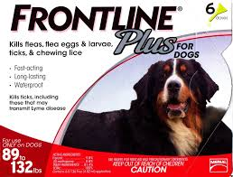 frontline plus ingredients. Frontline Plus For Dogs - 89 132 Pounds 12 Pack Ingredients