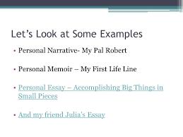 personal memoir essay examples sample memoir essays great  lets look at some examples personal memoir essay examples