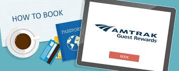 Amtrak Guest Rewards Redemption Chart How To Book Amtrak Guest Rewards