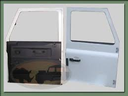 replacement front doorsLand Rover Defender 110  90 Replacement Front Doors New Take Off
