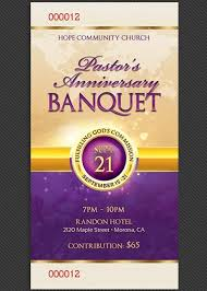 Banquet Tickets Sample Clergy Anniversary Banquet Ticket Template Ticket Template