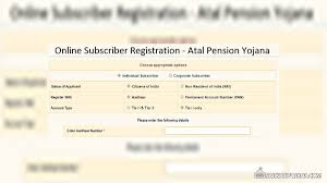 Pm Pension Yojana Chart Atal Pension Yojana Online Form Statement Chart