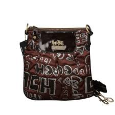 Coach Fashion Poppy Small Coffee Crossbody Bags EPV