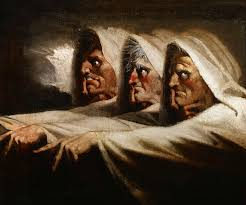 the supernatural tales blog supernatural shakespeare the three witches or the weird sisters ca 1782