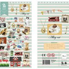 Sonia Alley Cat sticker (2017) | Cute Korean Stickers | Washi ...