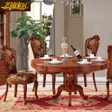 get ations arts stream home european american style carved solid wood ash wood dining room furniture dining table