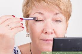 image led apply eye makeup for women over 50 step 16