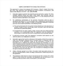 Consulting Agreement Example Consulting Retainer Agreement Article ...