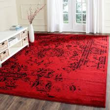 awesome large red area rug 18