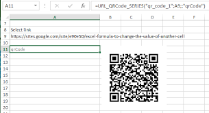Google Charts Qr Code Generate Qr Code With Google Chart Api Using Udf In Excel