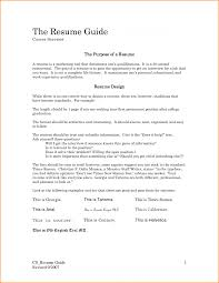 Resume Examples Monster Download Guidelines