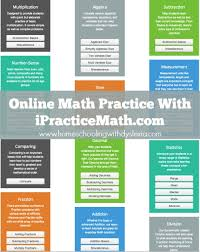 ipracticemath for online math practice homeschooling dyslexia online math practice ipracticemath