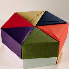 Decorative Holiday Boxes Decorative Hexagonal Origami Gift Box with Lid 100 Flickr 69