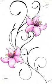 Small Picture Surprising Small Flower Designs For Tattoos 81 For Your Online