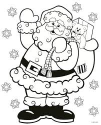 Printable Christmas Coloring Pages For Toddlers Halloween