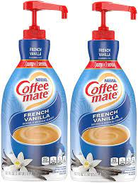 This perennial favorite blends rich creamer with just the right amount of bright vanilla notes for a taste that's simply beyond compare. Nestle Coffee Mate Coffee Creamer French Vanilla Concentrated Liquid Pump Bottle Non Dairy No Refrigeration 50 7 Fl Oz Pack Of 2 Amazon Com Grocery Gourmet Food