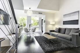 Modern Loft Townhouse In Vancouver, Small Space Solutions
