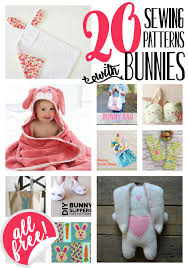Free Sewing Patterns For Beginners Amazing 48 Free Sewing Patterns With Bunnies SewCanShe Free Sewing