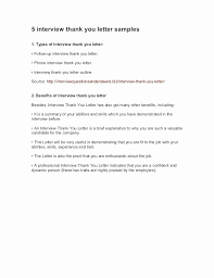 Resume Thank You Letter Sample Lovely How To Write A Thank You