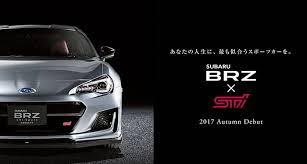 2018 subaru brz sti. delighful subaru we arenu0027t sure what the new japanspec u201cbrz x stiu201d model will be but it  could be very similar to brz ts north american model subaru says 2018  and subaru brz sti i