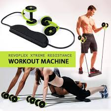 revoflex xtreme resistance workout machine black